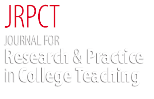 Journal for Research and Practice in College Teaching